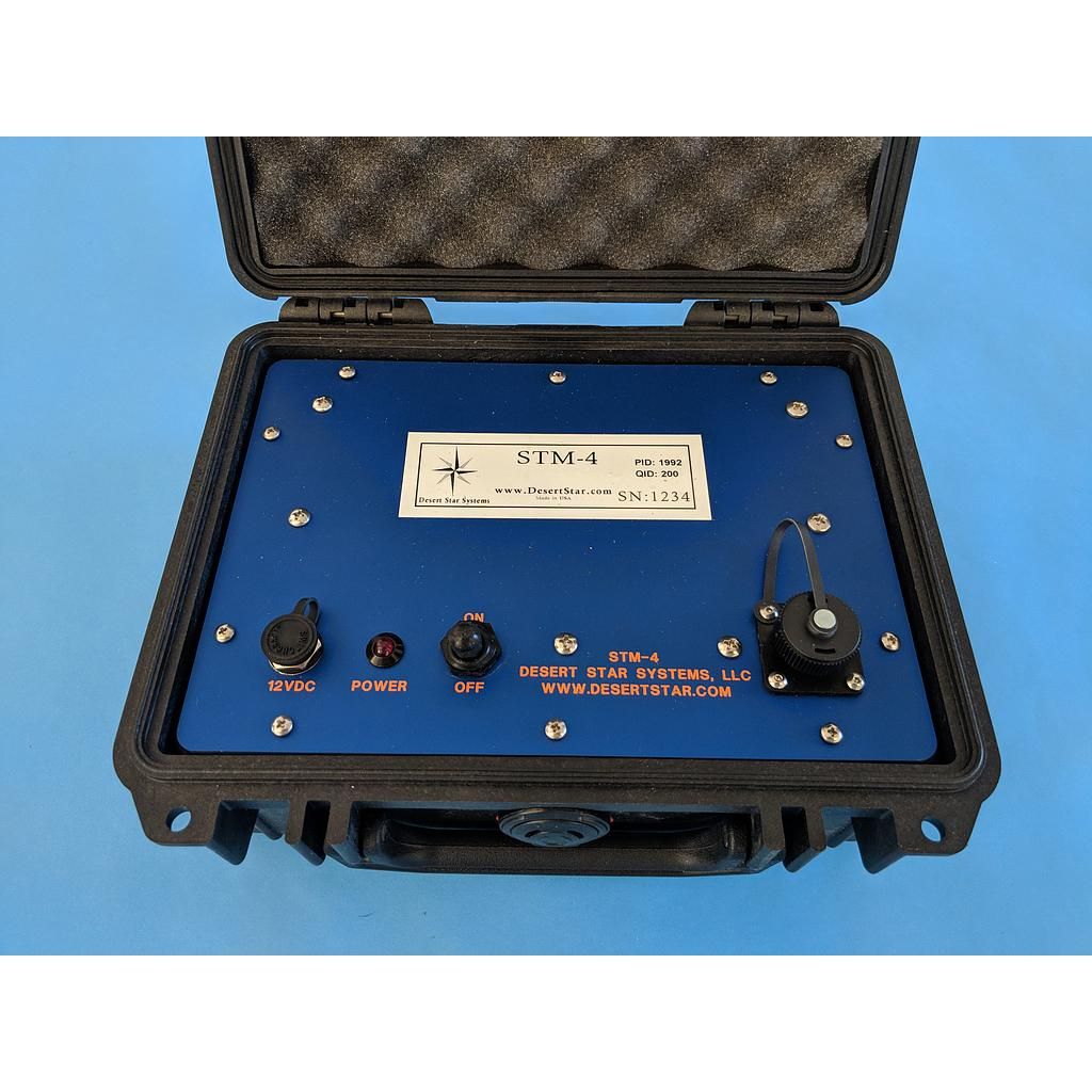 STM-4: Deck Box For Broadcast Release
